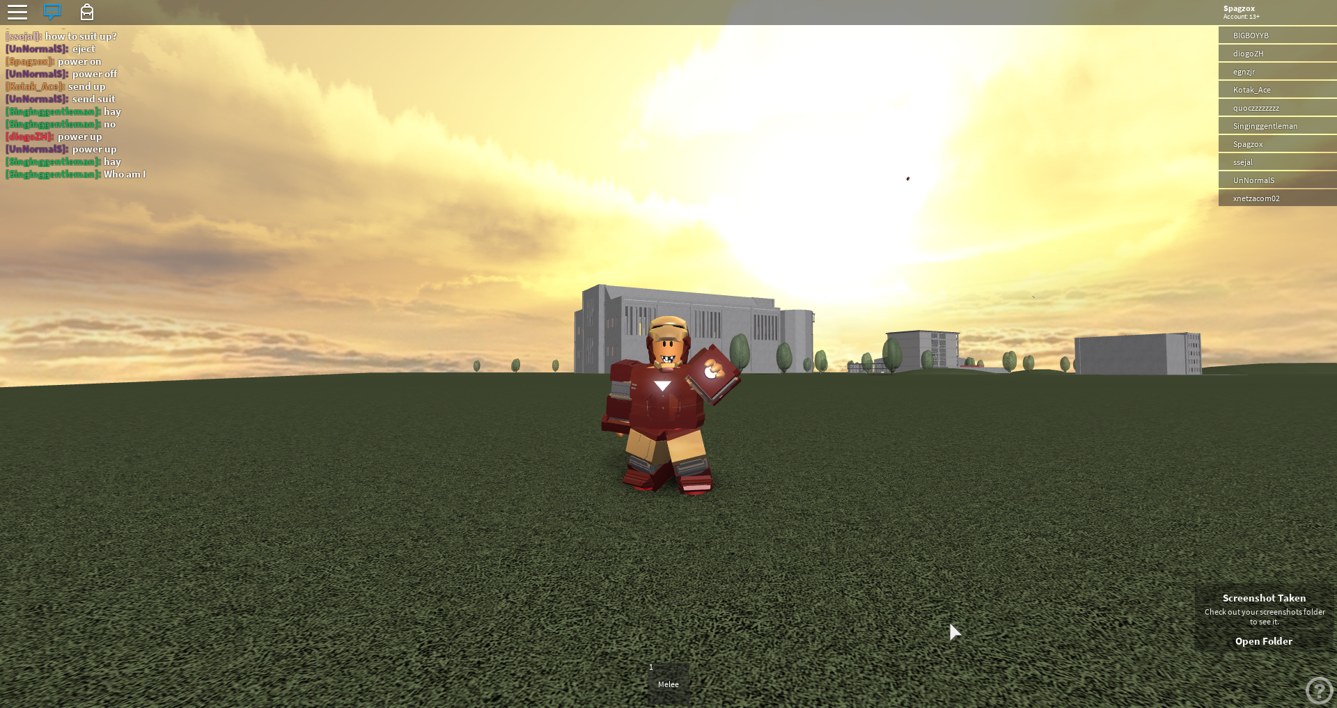 Iron Man Simulator - Spagz Blox
