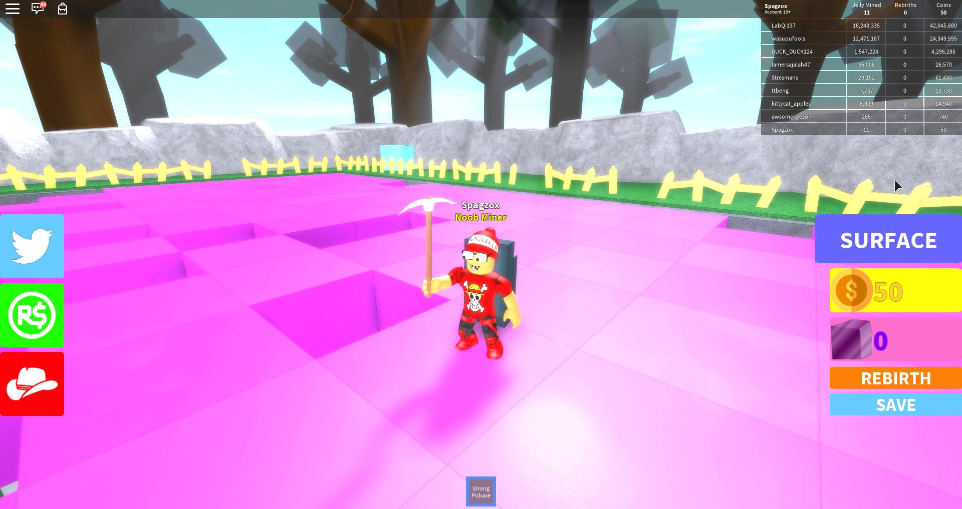 Fundo Do Jogo Piggy Roblox Jelly Mining Simulator Spagz Blox Apk