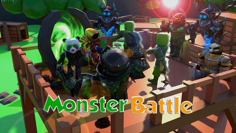 Monster Battle - Spagz Blox